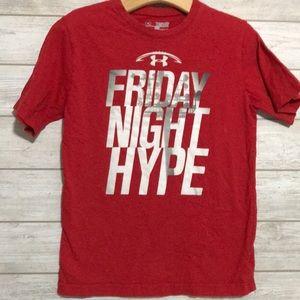 Under Armoue Red Friday Night Hype t-shirt YXS